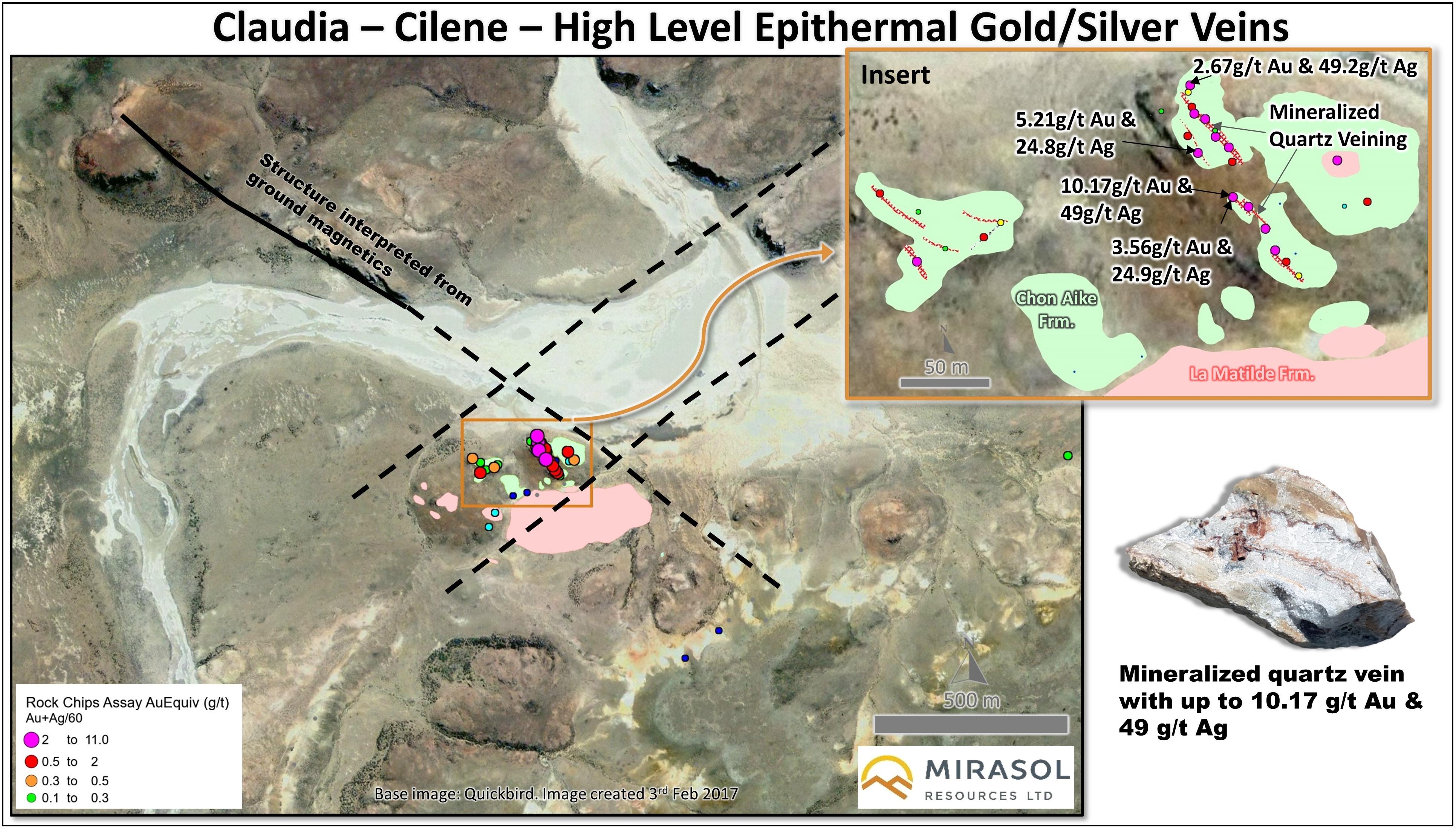 Claudia Gold Silver Project - Mirasol Resources Ltd