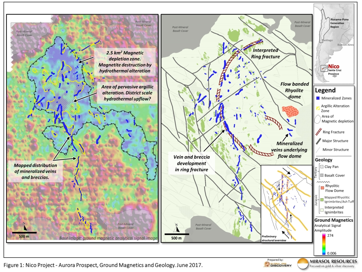 Mirasol Announces Discovery of High Grade Gold and Silver ...